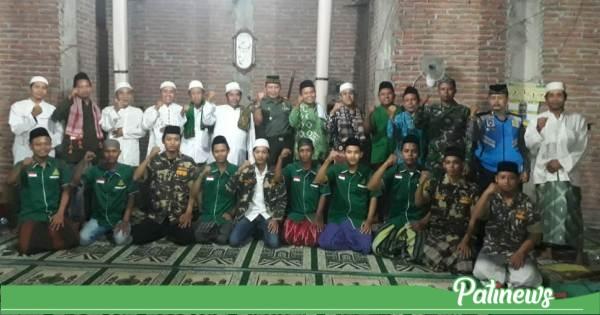 Muspika Margorejo dan PCNU Tarling di Masjid Miftahul Falah