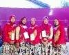 Nguri-uri Budaya Jawa, Petugas TPS 4 Gulangpongge Kenakan Kebaya