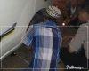 Petugas Pospam Widorokandang Pati, Bantu Pemudik Yang Alami Pecah Ban