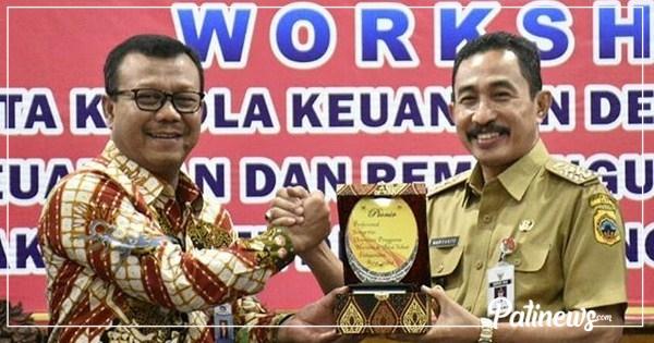 Mantab Lur, Pati Masuk 13 Kabupaten se Indonesia, 100% Terapkan Siskeudes