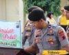Polres Pati Galang Donasi, Peduli Gempa Donggala dan Tsunami Palu