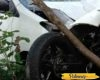 Terseret Xenia Hingga Nabrak Pohon, Pengendara Yamaha R15 di Tlogowungu Ini Selamat