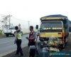 Truk vs Thunder di Jalur Lingkar Selatan Pati, Satu Orang Dilarikan ke Rumah Sakit