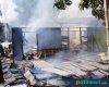 Diduga Konsleting Listrik, Satu Rumah di Jaken Ludes Terbakar