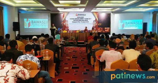 Jelang Pemilu 2019, Bawaslu Pati Sosialisasikan Undang-undang
