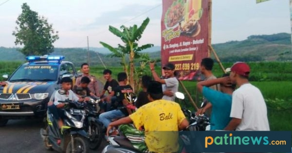 Cegah Aksi Balap Liar, Polsek Kayen Berikan Himbauan Safety Ridding