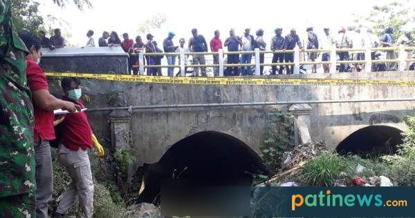 Sesosok Mayat Tanpa Identitas, Ditemukan di Bawah Jembatan Dukuh Bibis Margorejo