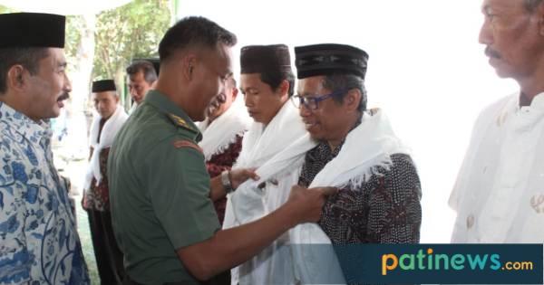 Hadiri Penutupan Manasik Haji Se-Kabupaten Pati, Kasdim Pati Pesan Hal ini