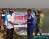 BBPBAP Distribusikan 6.000 Benih Ikan Kakap Kepada Petambak Dororejo Tayu