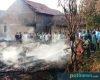 Diduga Konsleting Listrik, Empat Rumah di Kropak Winong Terbakar