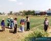 Polsek Jakenan Bagikan Nasi Kotak Kepada Petani