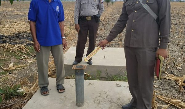 Pompa Air di Sawah Desa Pasuruhan Kayen Hilang Dicuri, Polisi Lakukan Penyelidikan