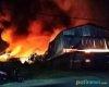 Sebuah Gudang di Ngeluk Pati Terbakar, Kerugian Ditaksir Ratusan Juta Rupiah