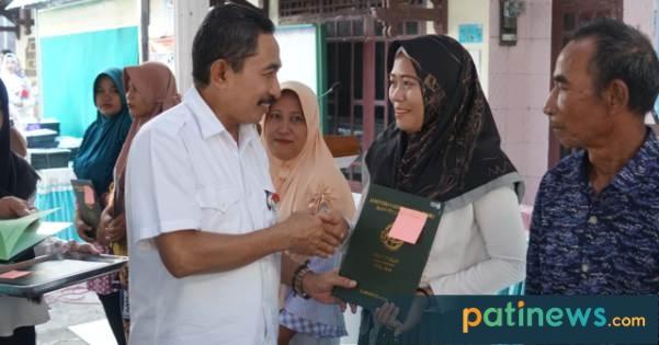 1.747 Sertifikat Program PTSL BPN, Dibagikan Bupati Pati