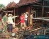 Dua Rumah di Desa Sinomwidodo Tambakromo Ludes Terbakar, Kerugian Ditaksir 200 Juta Rupiah