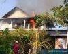 Rumah Tingkat di Juwana Terbakar, Api Diduaga Berasal dari Konsleting Charger Handphone