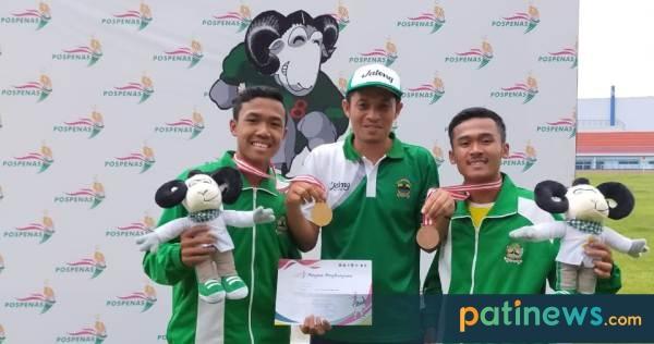 Wakili Jateng di Pospenas 2019, Atlet Asal Pati Sumbang Satu Emas dan Satu Perunggu