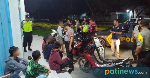 Antisipasi Balap Liar, Polres Pati Tingkatkan Patroli Malam