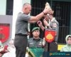 Penyerahan Pusaka Kuluk Kanigoro, Jadi Tradisi Lepas Sambut Dandim Pati