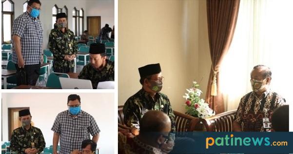 Kunjungi MAN 1 Pati, Komisi D DPRD Pati Serap Aspirasi Pembelajaran Daring
