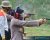 Tingkatkan Kemampuan Gunakan Senpi, Polres Pati Gelar Latihan Menembak Bersama