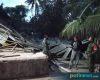 Diterjang Angin Kencang, Tempat Fillet Ikan di Banyutowo Roboh
