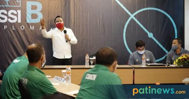 Diikuti 26 Coach Profesional, Pati Jadi Tuan Rumah Kursus Lisensi Kepelatihan B PSSI