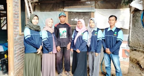 Kunjungi Ternak Burung Puyuh di Pucakwangi, Mahasiswa KKN Belajar Membangun Usaha